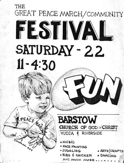 Barstow Festival