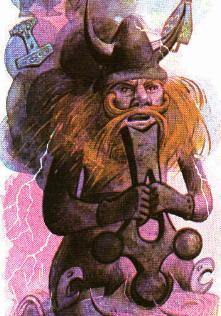 Thor by Pauline Baynes