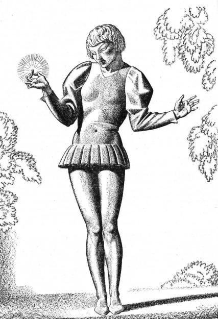"""Viola from """"Twelfth Night"""" by Rockwell Kent"""